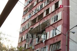 თბილისში 16-სართულიან კორპუსში აფეთქება მოხდა, არიან დაშავებულები