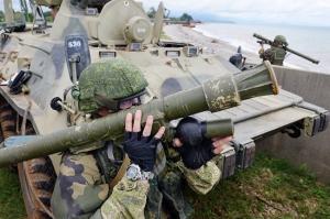 აფხაზეთში რუსი სამხედროების მონაწილეობით სამხედრო სწავლება მიმდინარეობს