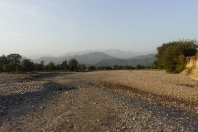 ზემო და ქვემო ალვანში მდინარე ალაზანში წყალი აღარ მოედინება