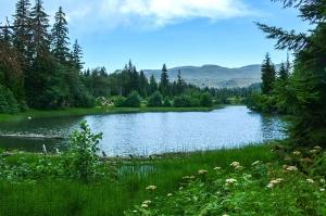 """მთიან აჭარას ახალი ტურისტული ადგილი """"შავი ტბა"""" შეემატა"""