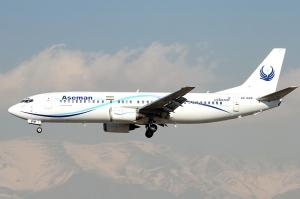 ირანში სამგზავრო თვითმფრინავი ჩამოვარდა