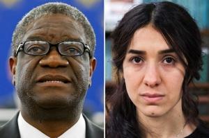 მშვიდობის დარგში ნობელის პრემია კონგოელ ექიმსა და ერაყელ უფლებადამცველ ქალს გადაეცა