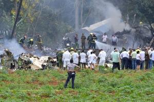 კუბაში თვითმფრინავის ჩამოვარდნას 100-ზე მეტი ადამიანი ემსხვერპლა