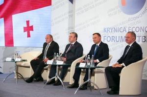 """თბილისში """"კრინიცას ეკონომიკური ფორუმი"""" გაიხსნა"""