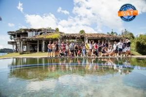 კოლუმბიაში ესკობარის ყოფილი სახლი პეინტბოლის სათამაშო მოედნად აქციეს