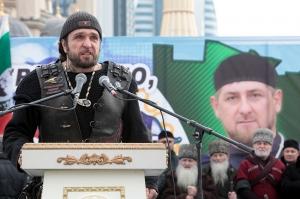 """რამზან კადიროვმა """"ღამის მგლების"""" ლიდერი ახმად კადიროვის ორდენით დააჯილდოვა"""