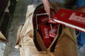 სამეგრელოში უაქციზო სიგარეტის გადაზიდვის ბრალდებით სამი პირი დააკავეს