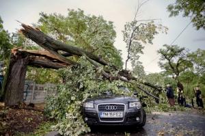 რუმინეთში ძლიერ ქარიშხალს რვა ადამიანი ემსხვერპლა