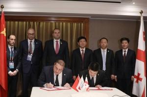 ჩინური კომპანია ტყიბულში ქურთუკების მწარმოებელ ქარხანას ააშენებს