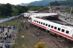 ტაივანში მატარებლის ავარიას 22 ადამიანი ემსხვერპლა