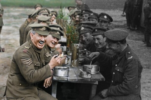 პიტერ ჯექსონმა დოკუმენტურ ფილმში I მსოფლიო ომის კადრები აღადგინა