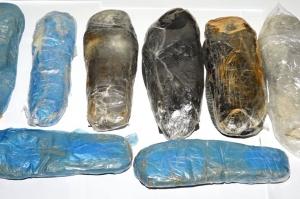 ირანის მოქალაქეებს 3 კილომდე ჰეროინი ფეხსაცმლის ძირებში ჰქონდათ დამალული - შსს