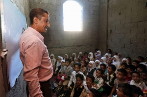 იემენელმა მასწავლებელმა საკუთარ სახლში სკოლა გახსნა