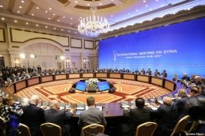 """რუსეთი, თურქეთი და ირანი სირიაში """"დეესკალაციის ზონის"""" შექმნაზე შეთანხმდნენ"""