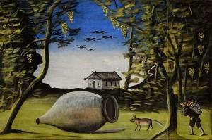 ალბერტინას მუზეუმში ფიროსმანის ნახატები გამოიფინა
