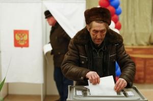 ყირიმში არჩევნების ჩატარების გამო უკრაინა რუსეთისთვის სანქციების დაწესებას ითხოვს