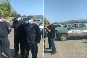 პოლიციამ მღვდელი და მრევლი გუმათის ბლოკპოსტით ოფურჩხეთისკენ არ გაატარა