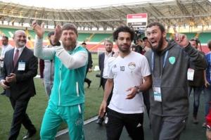 რუსეთი 2018: ეგვიპტის ნაკრები გროზნოში ვარჯიშობს