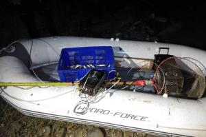 რუსთავში ელექტროშოკური აპარატით 16 კილომდე თევზი დაიჭირეს