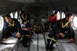 თრუსოს ხეობაში დაკარგული ტურისტების დასახმარებლად ვერტმფრენი გაფინდა