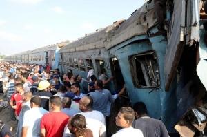 ეგვიპტეში მატარებლის ავარიას 40-ზე მეტი ადამიანი ემსხვერპლა