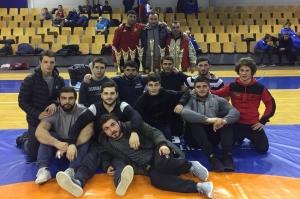 მოჭიდავეთა ახალგაზრდულმა ნაკრებმა ლატვიაში 11 მედალი მოიპოვა
