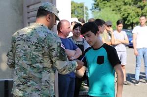 კადეტთა სამხედრო ლიცეუმში მოსწავლეთა რეგისტრაცია დაიწყო