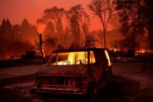კალიფორნიაში ხანძრის შედეგად დაღუპულთა რიცხვი 42-მდე გაიზარდა