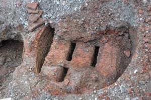 თელავში სავარაუდოდ მე-17 საუკუნის კერამიკის გამოსაწვავი ქურა აღმოაჩინეს