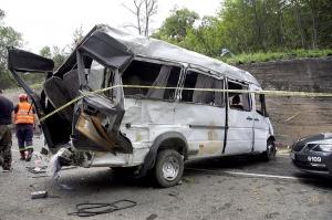 სასამართლომ გომბორის გზაზე მომხდარი ავარიის გამო მძღოლს 8-წლიანი პატიმრობა მიუსაჯა