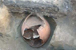 ბათუმში ნაპოვნი ქვევრი, შესაძლოა მე-5 საუკუნის იყოს