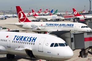 """""""თურქეთის ავიახაზები"""" ფრენების განახლებას ივნისიდან გეგმავს"""