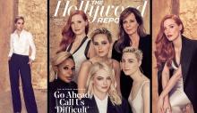 ექვსი ვარსკვლავი The Hollywood Reporter-ის ფოტოებზე