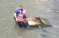 ბორჯომში მდინარე მტკვრიდან 19 ცალი თევზსაჭერი ხაფანგი ამოიღეს