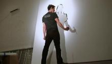 ჯიმ კერის მხატვრობის ნიჭი აღმოაჩნდა
