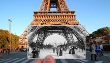 """ჟულიან კნეზის კრებული - """"პარიზი: ფანჯარა ისტორიაში"""""""