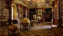 მსოფლიოს ერთ-ერთი ულამაზესი ბიბლიოთეკა პრაღაშია