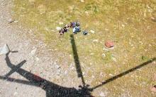 თრუსოს ხეობაში გზააბნეული ტურისტები თბილისში ვერტმფრენით დააბრუნეს