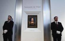 ლეონარდო და ვინჩის ნახატი ქრისტის აუქციონზე რეკორდულ ფასად გაიყიდა