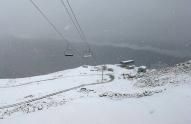 თეთნულდზე თოვლი მოვიდა
