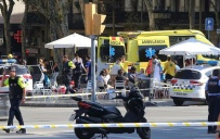 ბარსელონაში მიკროავტობუსი ხალხში შევარდა, 13 ადამიანი დაიღუპა