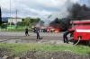 ნოსირთან ავარიის შედეგად 2 ადამიანი დაიწვა