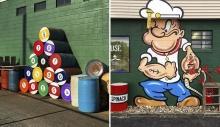 ამერიკელი ქუჩის ხელოვანის გენიალური მიგნებები
